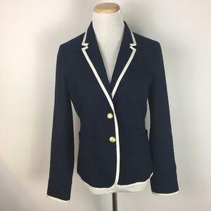 J.Crew Women's Tipped Schoolboy Blazer Jacket